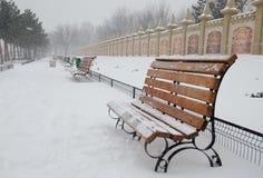 Atmósfera del invierno fotografía de archivo