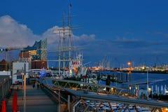 Atmósfera del puerto foto de archivo libre de regalías