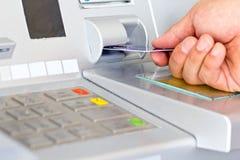 ATM为撤出您的金钱 库存照片
