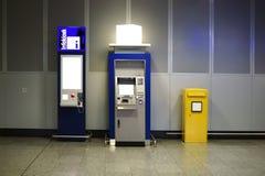 ATM和邮箱 免版税库存照片