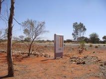 ATM在澳洲内地 库存照片