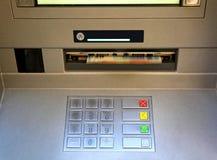 ATM的电子键盘 免版税库存图片