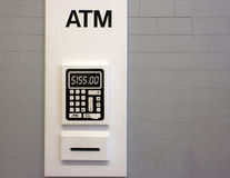 ATM Royalty Free Stock Photo