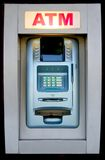 ATM. An automated teller machine is ready to provide cash royalty free stock images