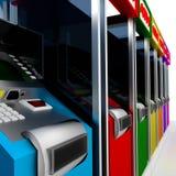 ATM. ilustração stock