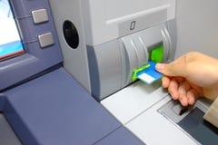 ATM royalty-vrije stock foto