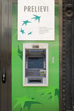 ATM -现金点 免版税库存图片