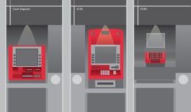 ATM Imagens de Stock Royalty Free