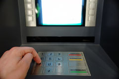 ATM Access royalty free stock images