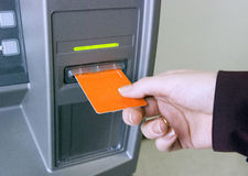 Free ATM Access Royalty Free Stock Images - 8124289