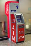 ATM at the Airport Stock Images