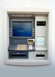 ATM - Automated Teller Machine. At a bank stock images