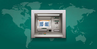 ATM - Automated teller machine Stock Photo