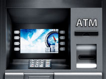 ATM Automated Teller Machine Stock Image