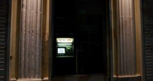ATM Automated teller machine HSBC stock video