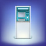 Atm  on background Stock Images
