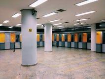 ATM in Bank Lizenzfreie Stockfotografie