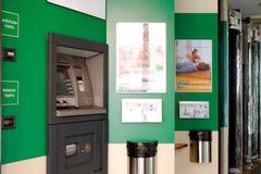 ATM - Bargeldpunkt Stockfotografie