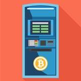 ATM Bitcoin Royaltyfri Bild