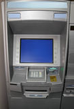 Atm - cash dispense. Bank machine Stock Photography