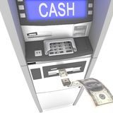 Atm cash machine Royalty Free Stock Photo