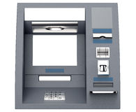 Atm cash machine isolated on white background Royalty Free Stock Photography
