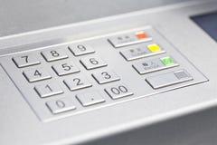 ATM cash machine pin code Stock Photography