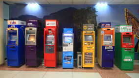 ATM cash machines at Phuket airport Royalty Free Stock Image