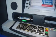 ATM - Cash point Stock Image