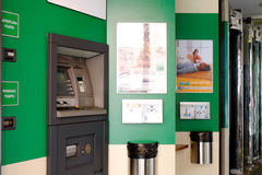ATM - Cash point Stock Photography