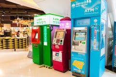 ATM-chiangmai van het machine centrale festival stock afbeelding