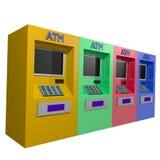 ATM-contant geld Royalty-vrije Stock Afbeelding
