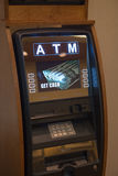 ATM-de Machine van het Geldcontante geld Stock Afbeelding
