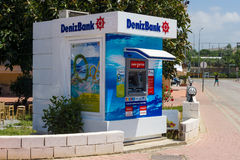 ATM Denizbank Stock Image