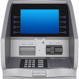 ATM display Stock Images