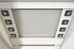 ATM ekranu puste miejsce Fotografia Royalty Free