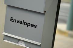 ATM envelope holder Stock Photo