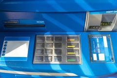 ATM EPP keyboard technology banking stock photography