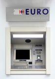 atm-euro Royaltyfri Foto