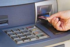 ATM för kassa royaltyfri bild