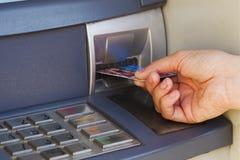 ATM für Bargeld Stockfotos