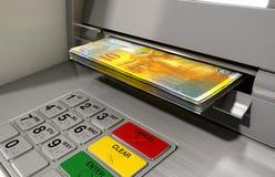 ATM-Fassaden-Bargeld Withdrawel Lizenzfreie Stockfotografie
