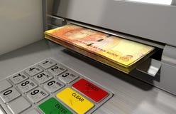 ATM-Fassaden-Bargeld Withdrawel Stockbilder