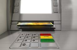ATM-Fassaden-Bargeld Withdrawel Stockfoto