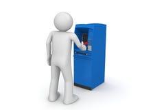 ATM - Financiën stock illustratie