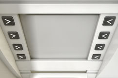 ATM-het Schermspatie Royalty-vrije Stock Fotografie