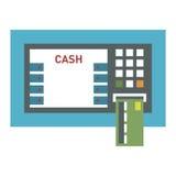 ATM ikony wektor Fotografia Stock