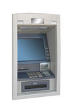 Atm isolated. Automated teller machine, ATM, isolated over white Royalty Free Stock Photo