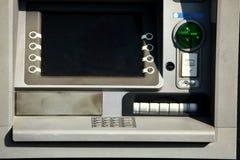 ATM jest jeden ciekawi wymyślenia cudzoziemski świat obrazy royalty free