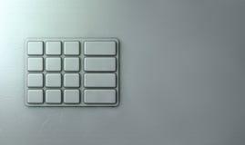 ATM Keypad Closeup Stock Images